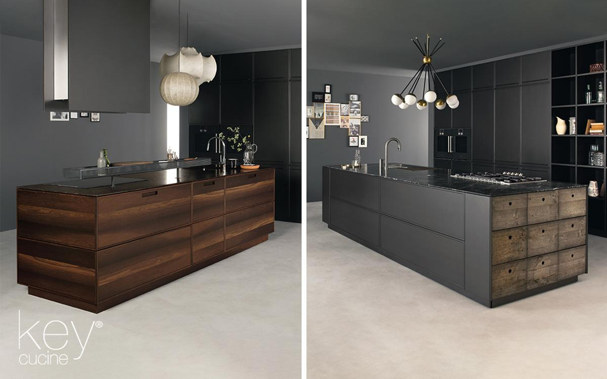 Playing with equilibrium in modern open-space kitchens