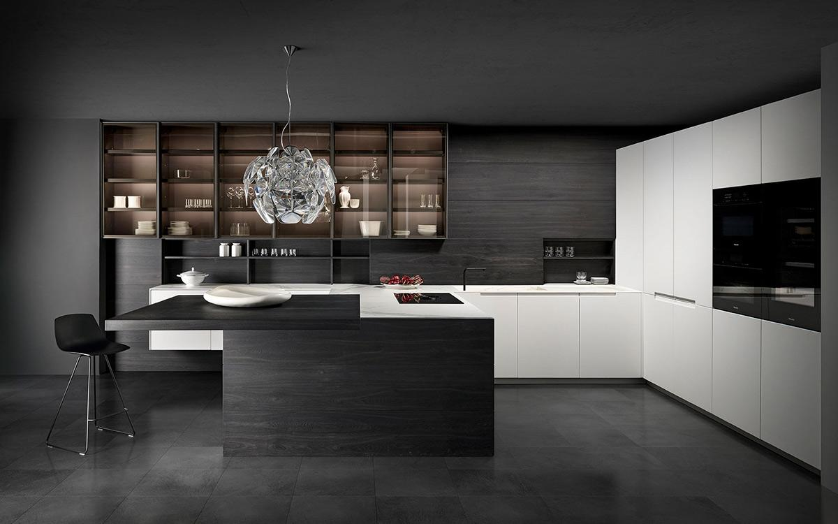 Extra: When a design kitchen becomes a journey through materials
