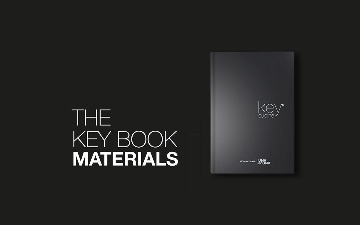 Il codice Key Cucine per il design, gli stili, i materiali: The Key Book Materials