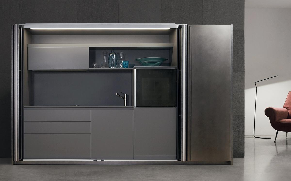 System, the modern kitchen that disappears