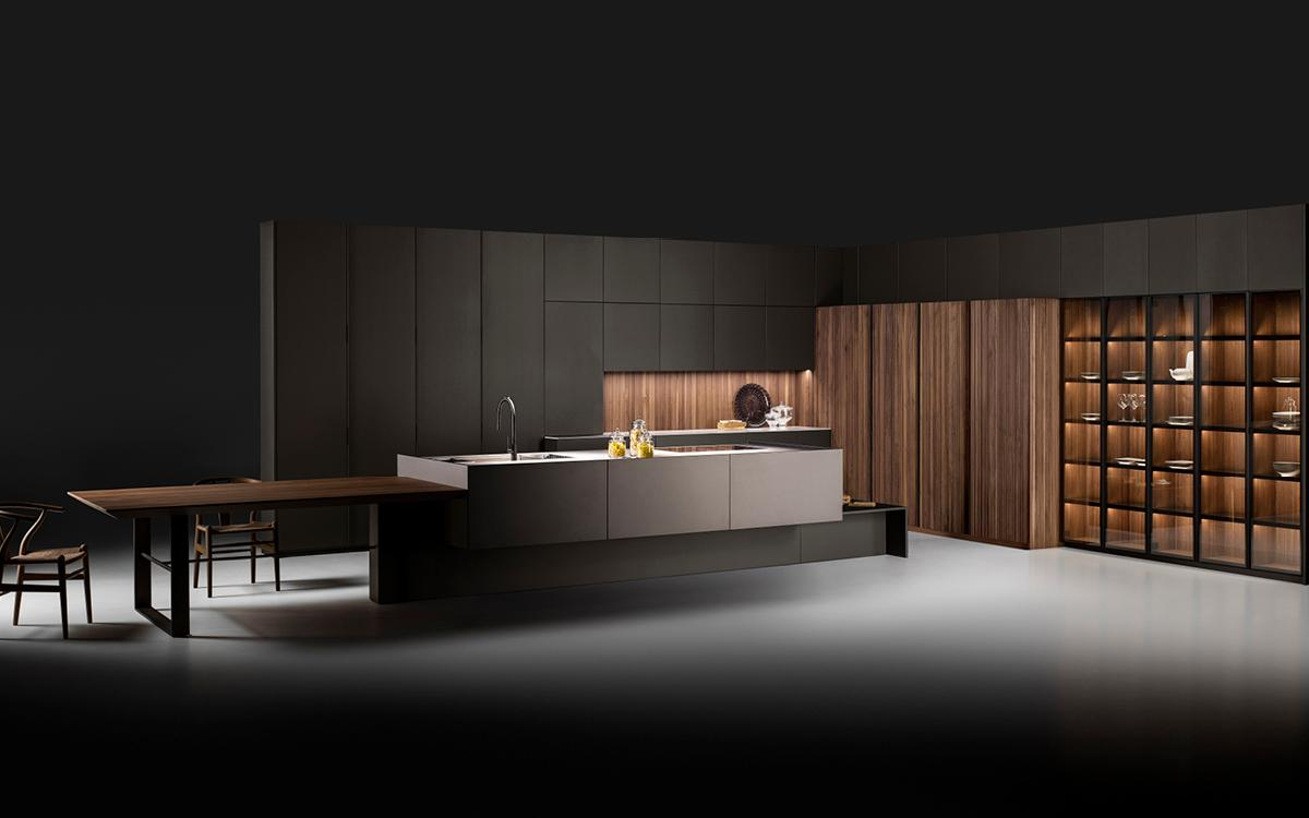 Key Cucine presents Strip, the luxury kitchen for those who like to perform over a hot stove