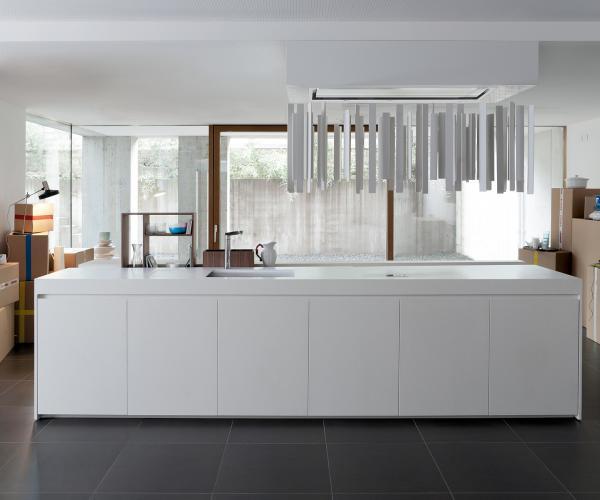 Cucine bianche e legno